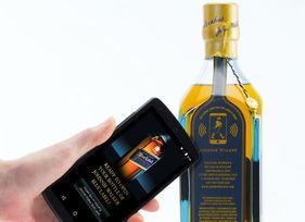 Johnnie Walker lance une bouteille de whisky connectée | connected objects | Scoop.it