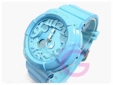 CASIO BABY-G (カシオ ベビーG) BGA-130-2B/BGA130-2B Neon Dial Series(ネオンダイアル)ブルー レディースウォッチ 腕時計 |CASIO カシオ | IWC,オメガ,カルティエ,腕時計,時計 | Scoop.it