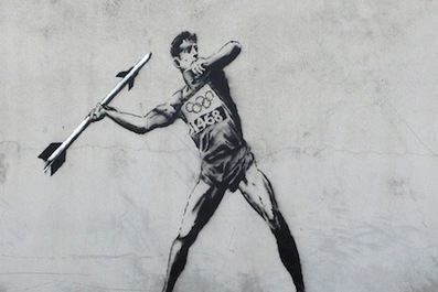London Olympics 2012: Banksy and Other Street Artists Ready for the Olympics | Sitä sun tätä, this and that | Scoop.it