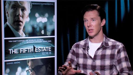 The Fifth Estate: Exclusive Benedict Cumberbatch Interview | Benedict 221B | Scoop.it