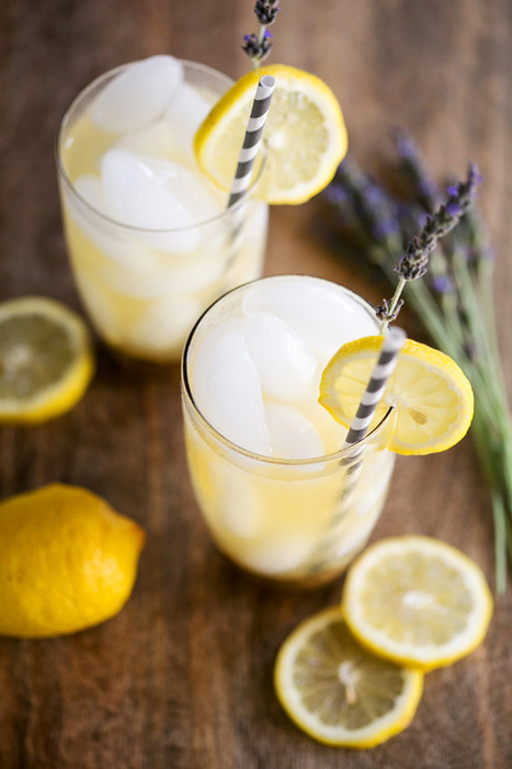 #DRINKRECIPE - lavenderlemonade - a house in the hills - interiors, style, food, and dogs | Homey home | Scoop.it