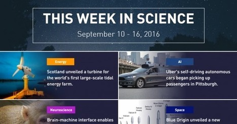This Week in Science: Sept 10-16, 2016 | IELTS, ESP, EAP and CALL | Scoop.it