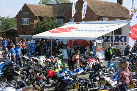 Suzuki Biker Cafe Days Back for 2016 | Motorcycle Industry News | Scoop.it
