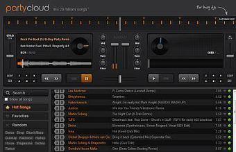 Devenir DJ en mixant en ligne avec PartyCloud | Time to Learn | Scoop.it