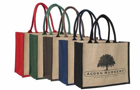 Hessian Bags - Hessian Shopping Bags Wholesale | Shopping Bags | Scoop.it