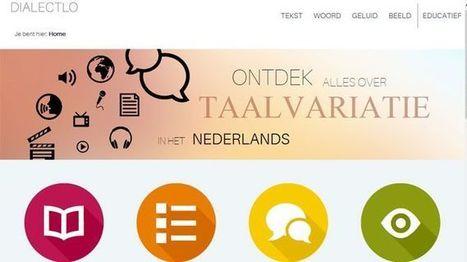 Website dialectloket brengt dialecten tot leven - VRT Nieuws   Taalberichten   Scoop.it