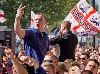 Anti-fascist groups plan counter-demos as EDL marches go national - The Independent   Humans against the EDL   Scoop.it