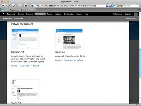 Drupal 7: Customizing an Existing Theme | Packt Publishing | Internet Commerce | Scoop.it