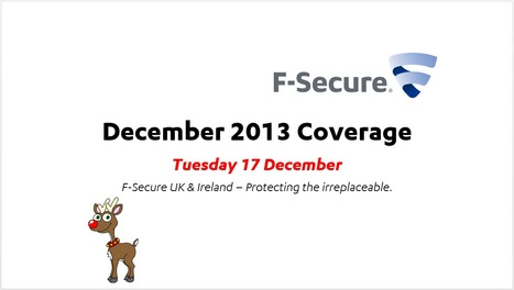 December Coverage (17th) | F-Secure Coverage (UK) | Scoop.it