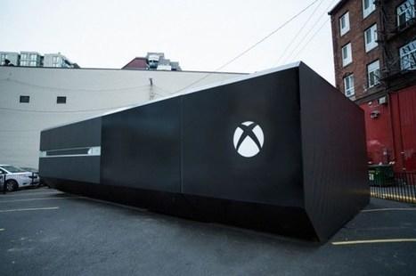 Microsoft installe une Xbox One géante à Vancouver | streetmarketing | Scoop.it
