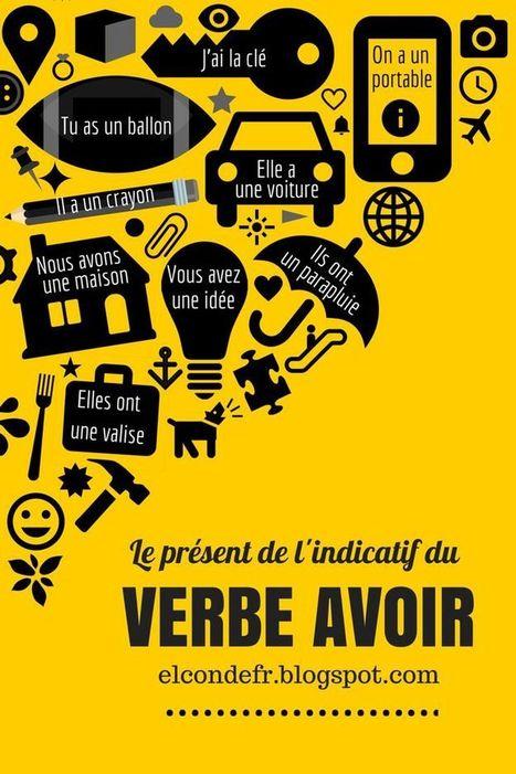 Le verbe avoir   FLE : Grammaire, Vocabulaire et divers   Scoop.it