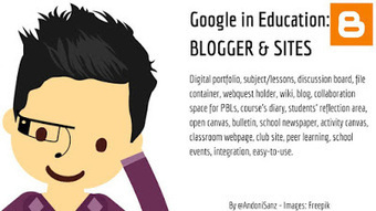 Techknowledgeschool: #Google apps for #education #gafe - #Sites #Blogger #edtech by @AndoniSanz   Blended Learning   Scoop.it