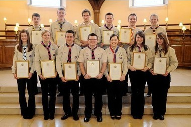 Derbyshire Scouts presented with Queen's Scout Award at Founder's Day service   Scouting around the world   Scoop.it