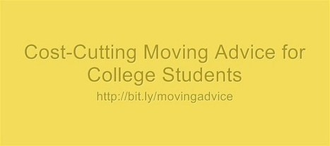 Cost-Cutting Moving Advice for College Students | PortPrep Blog | Learning on the Fly | Scoop.it
