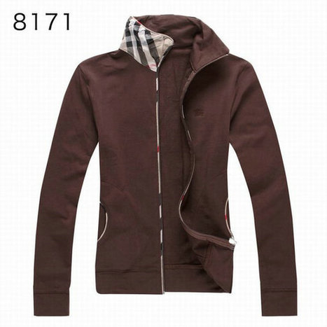 Burberry Long Sleeve Fleece Coats Brown Sports Cloth For Women | Burberry Shirts mens and  womens | Scoop.it