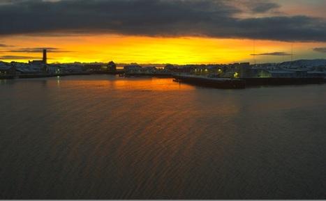 superbes lumières sur la #webcam 360° de #Vardø en #Norvège ce matin | Hurtigruten Arctique Antarctique | Scoop.it