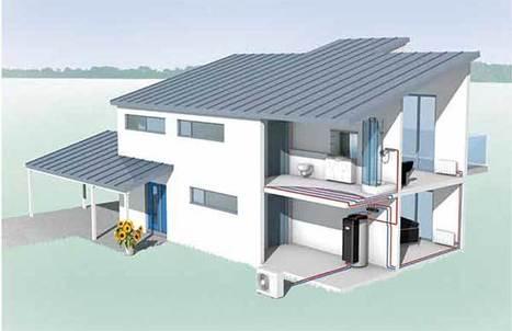 Pompe à chaleur split inverter + tour hydraulique = Splydro | Immobilier | Scoop.it