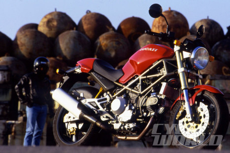Cycle World Flashback: October 1993- Monster Story by John Burns | Ductalk Ducati News | Scoop.it
