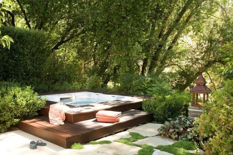 5 Incredible hot tub designs - Your Daily Dose Of Home Design And Living Inspiration | Inbound Power | Scoop.it