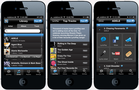 Shazam Launches New App Focused On Lyric Play: Shazam Player | Music business | Scoop.it