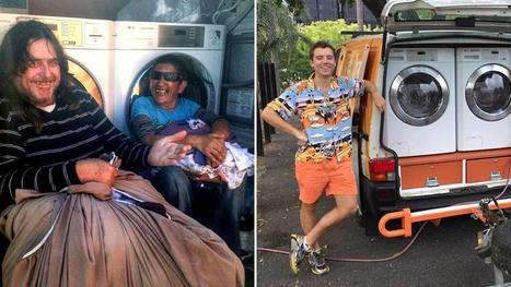 These Aussies Are Driving a Mobile Laundromat to Help the Homeless | Random Acts of Kindness, Senseless Acts of Beauty | Scoop.it