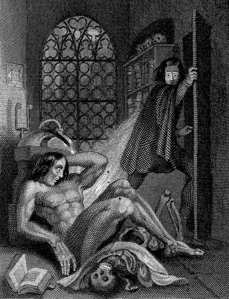 The Science of Life and Death in Mary Shelley's Frankenstein | Gothic Literature | Scoop.it