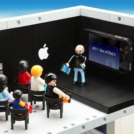 Un Apple Store en Playmobil | CuraPure | Scoop.it