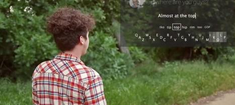 Maakt een (minimalistisch) keyboard voor Google Glass de 'bril' beter bruikbaar? | ICTMind | Scoop.it