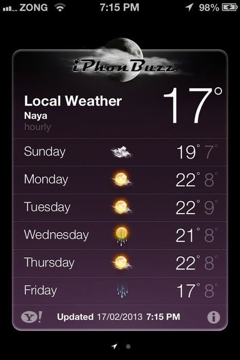 How To Permanently Fix The Weather App Crashes On iOS 6.x After Jailbreak With evasi0n | iPhone Scoop | Scoop.it