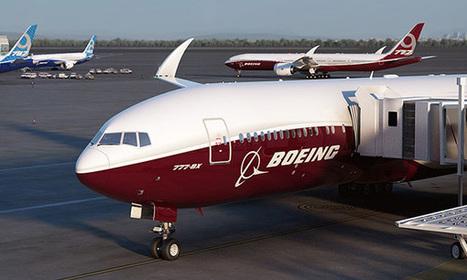 Les ailes du Boeing 777X pourront se replier grâce à Liebherr Aerospace | Formation aéronautique, training & industry | Scoop.it