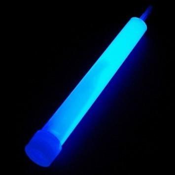 Bâton Fluo Bleu 15 cm - 8 heures | Cbodeco.com - Boutique Festive | Scoop.it