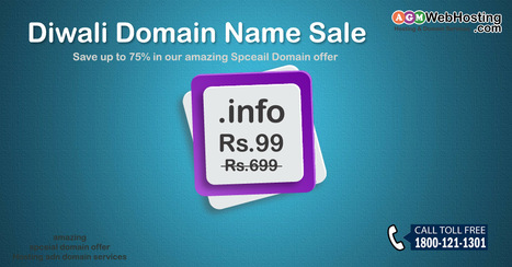 "Special Domain Offer: Register "".info"" Domain Just Rs.99 