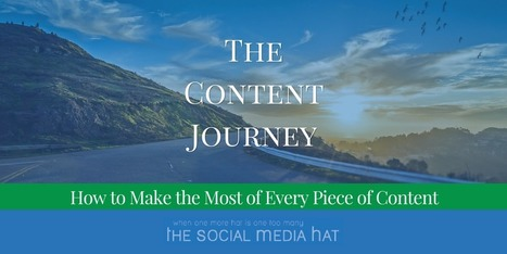 How to Make the Most of Every Piece of Content | The Content Marketing Hat | Scoop.it