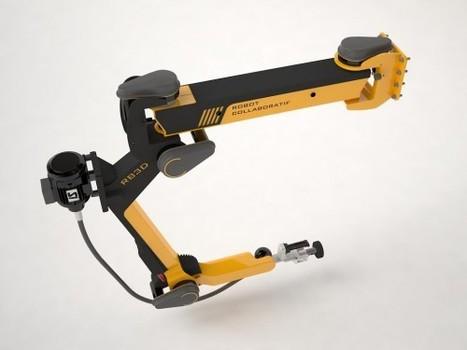 Un robot collaboratif (COBOT) pour l'assistance au geste industriel | titou.net | Robotique Domestique | Scoop.it