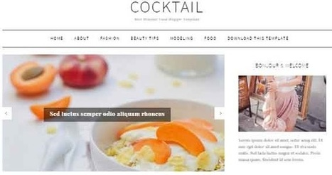 CockTail Blogger Template | Blogger themes | Scoop.it