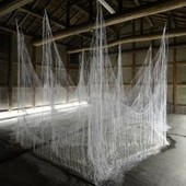 These Haunting Sculptures Are Made From Thousands of Hot Glue Sticks | hockey fight | Scoop.it