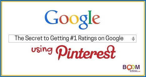 The Secret to Getting #1 Rankings on Google…Using Pinterest! | Business in a Social Media World | Scoop.it