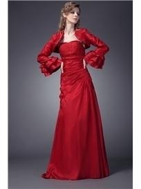 $ 163.99 Elegant Pleats Beading A-Line Sweetheart Neckline Floor-length Maria's Mother of the Bride Dresses | Fashion ladies | Scoop.it