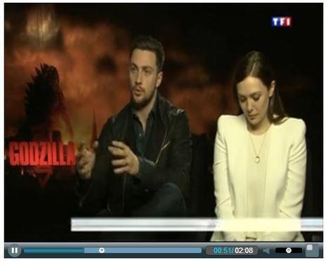 Noon News - TF1   Godzilla - TV & Web Coverage   Scoop.it