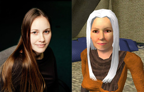 Alter Ego: Portraits of Gamers Next to Their Avatars | Digital Delights - Avatars, Virtual Worlds, Gamification | Scoop.it