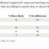 President Obama's Gay Marriage Stance: 60% Of Voters Don't Care ... | QUEER NEWS FROM THE ZION CURTAIN | Scoop.it