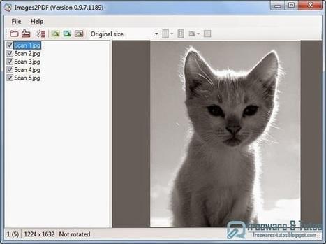 Images2PDF : un logiciel gratuit pour convertir des images en fichiers PDF | Moodle and Web 2.0 | Scoop.it