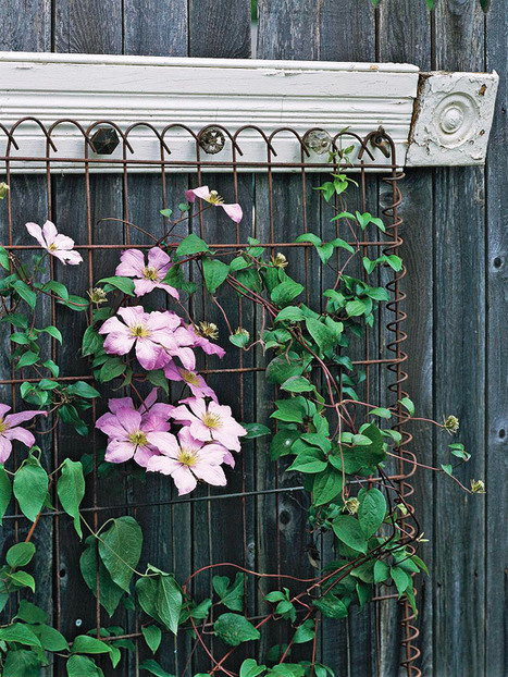 Vintage Style Trellis | Upcycled Garden Style | Scoop.it