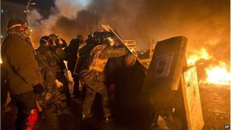 Police storm main Kiev protest camp | Human Rights and the Will to be free | Scoop.it