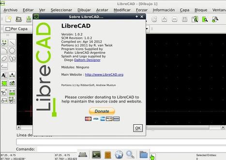 LibreCad alternativa Open Source a Autocad   tecno4   Scoop.it