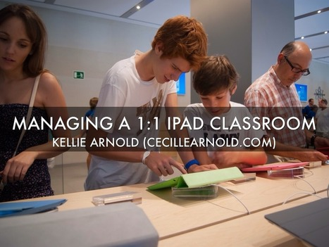 """Managing A 1:1 iPad Classroom"" - A Haiku Deck by 
