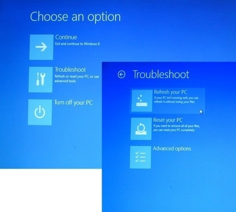 Refresh your Windows 8 system from a Recovery Drive | TechRepublic | Windows 8 Debuts 2012 | Scoop.it