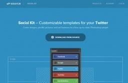 Un plugin Photoshop pour créer votre design sur les réseaux sociaux | Graphisme, Web & Technologie | Scoop.it