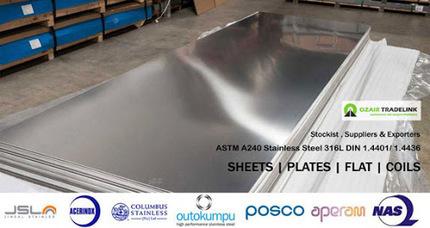 Stainless Steel 316L Sheets, Plates, Coils<br/>&hellip; | Gaurav Steel | Scoop.it