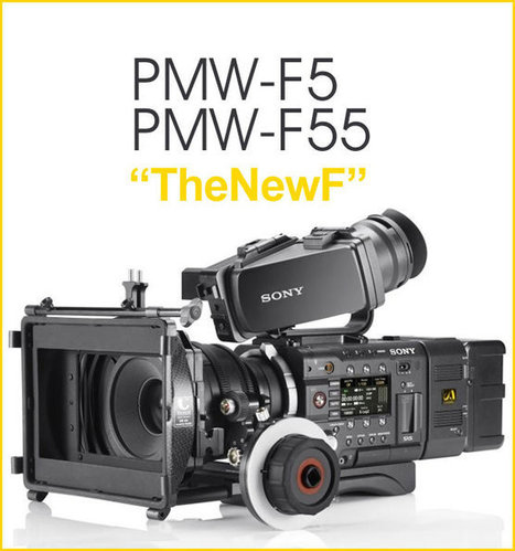 TWO new large sensor cameras from Sony PMW-F5/55 | Freelance Filmmaker | Scoop.it